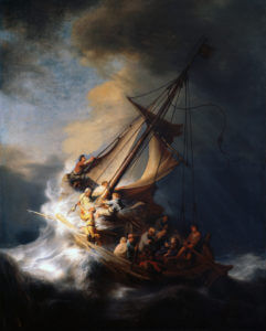 Rembrandt, The Storm on the Sea of Galilee