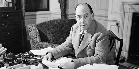 If you could actually thank C.S. Lewis…